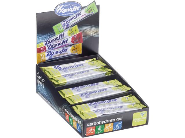 Xenofit Carbohydrate Gel Box 30x25g Citrus-Mix